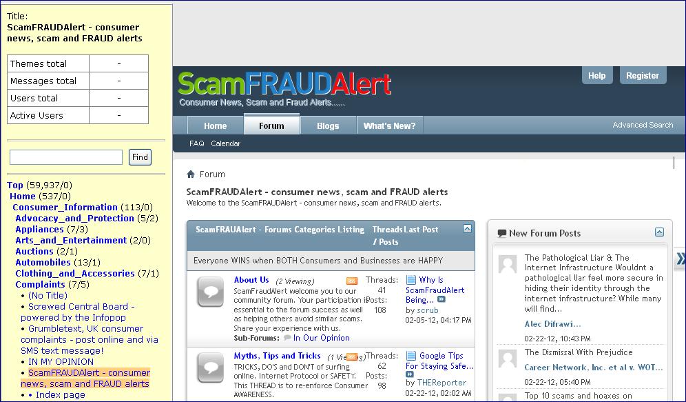 adsense trollers – scamFRAUDalert™ Report