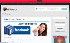 wikiwarning facebook