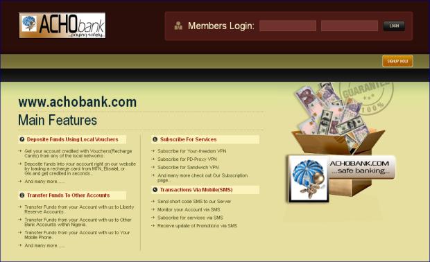 Acho bank
