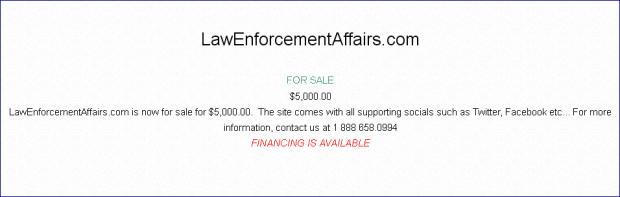 LawEnforcementAffairs