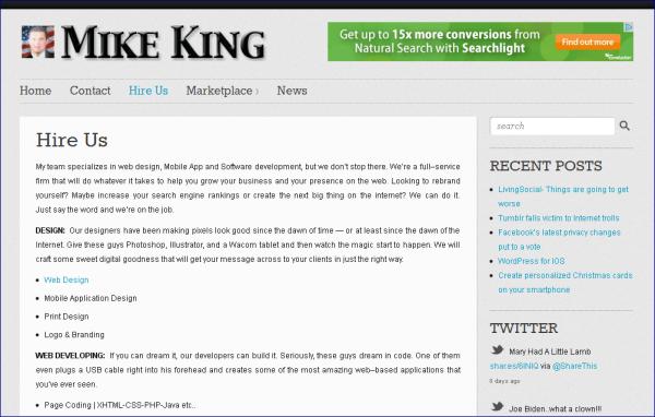 MikeKingUSA com aka Predatorswatch com – scamFRAUDalert™ Report