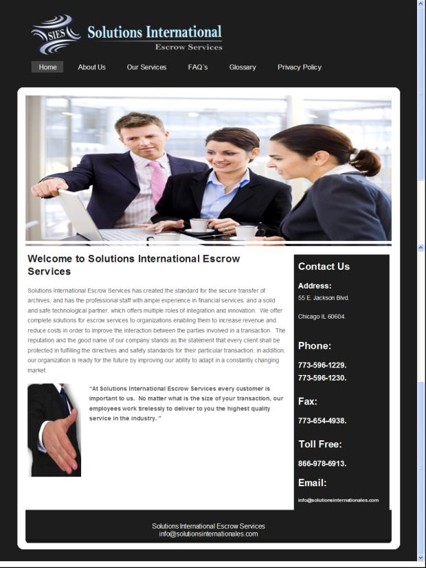 Solutions International Sales