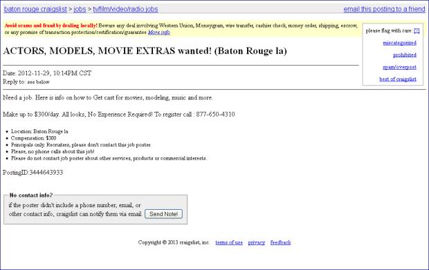 Movie Extra