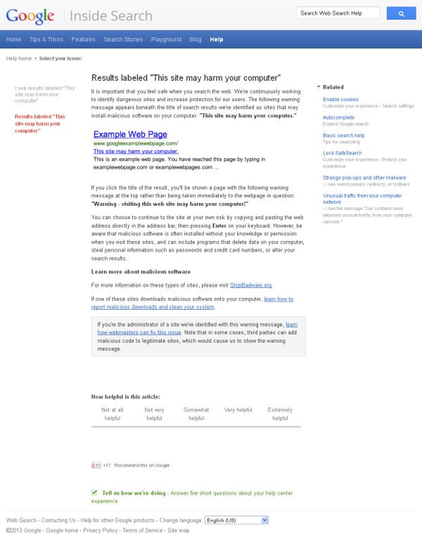 Google Safe Browsing2