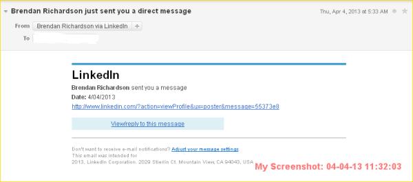 LinkedIn-spapm