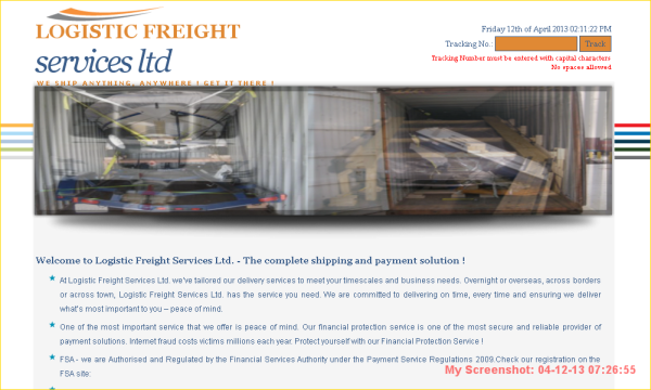 Logistic Freight Service
