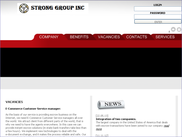 strong group inc