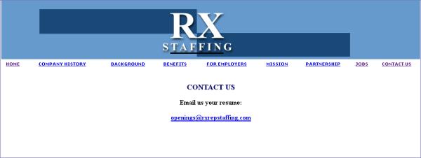 RX STAFFING