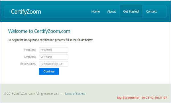 certifyZoom