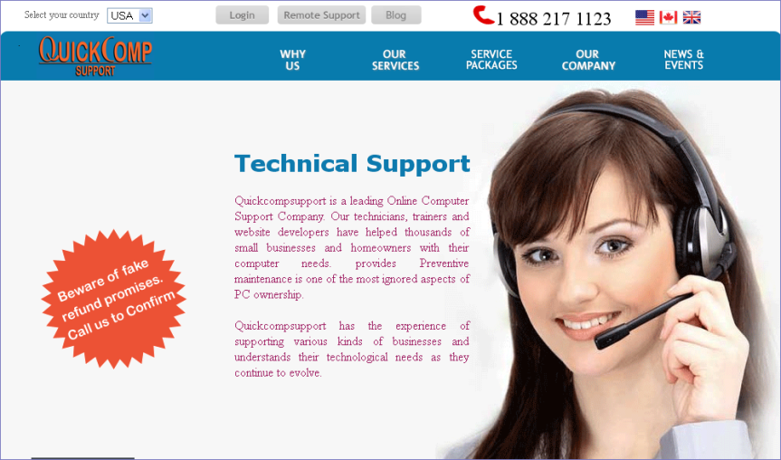 quickcompsupport