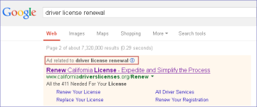 google_CA driverslicense