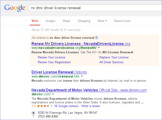 google_nv driverslicense