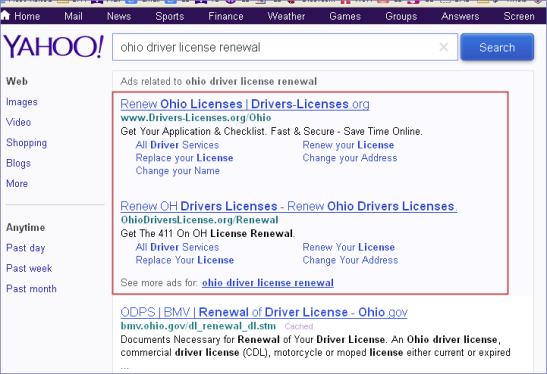 google_ohio driverslicense