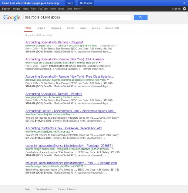 google posting