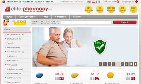 elife pharmacy
