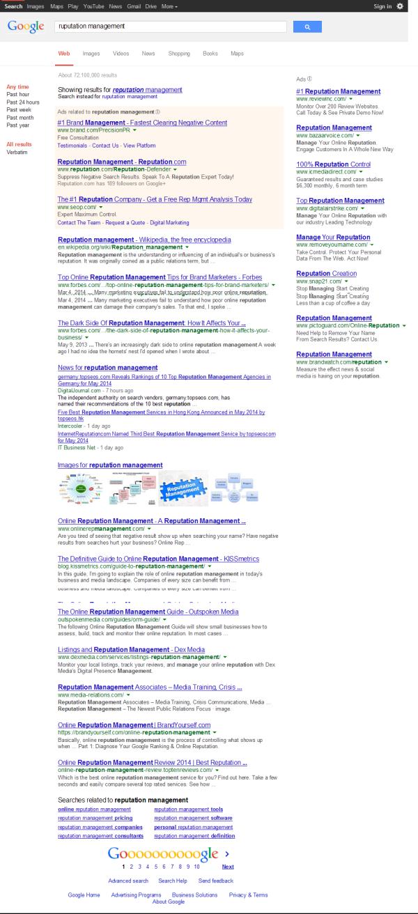 management reputation_google