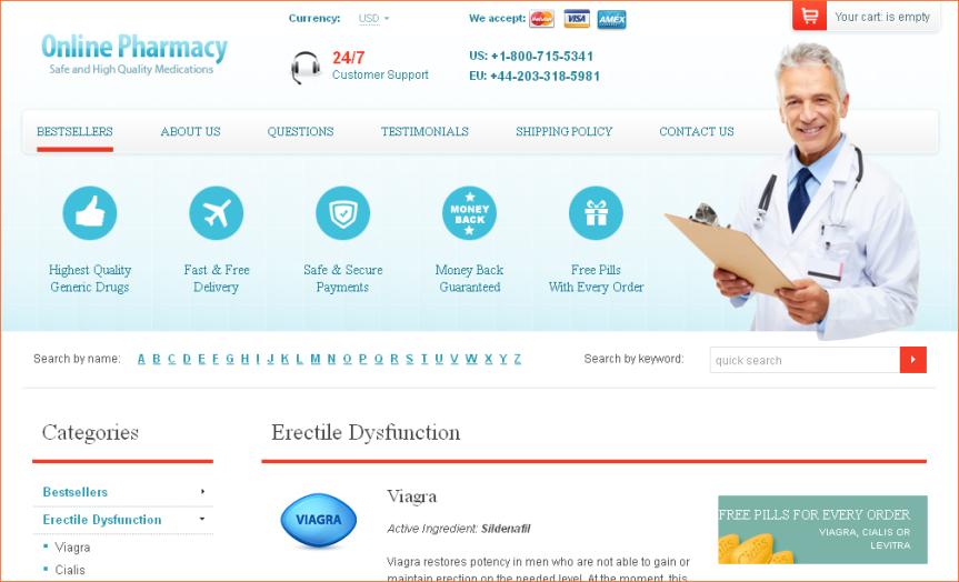onlinen Pharmacy-1800-715